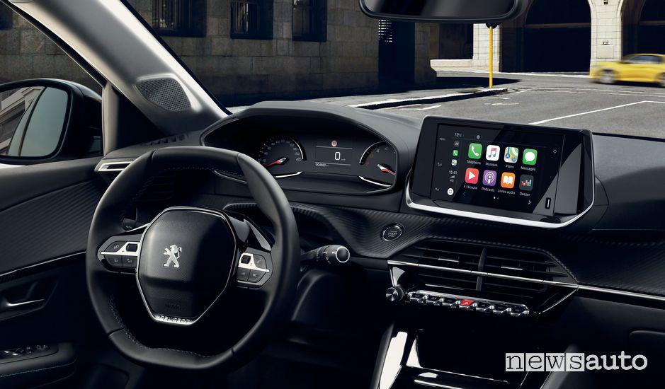 Quadro strumenti analogico, Apple CarPlay Peugeot 208 Allure Navi Pack