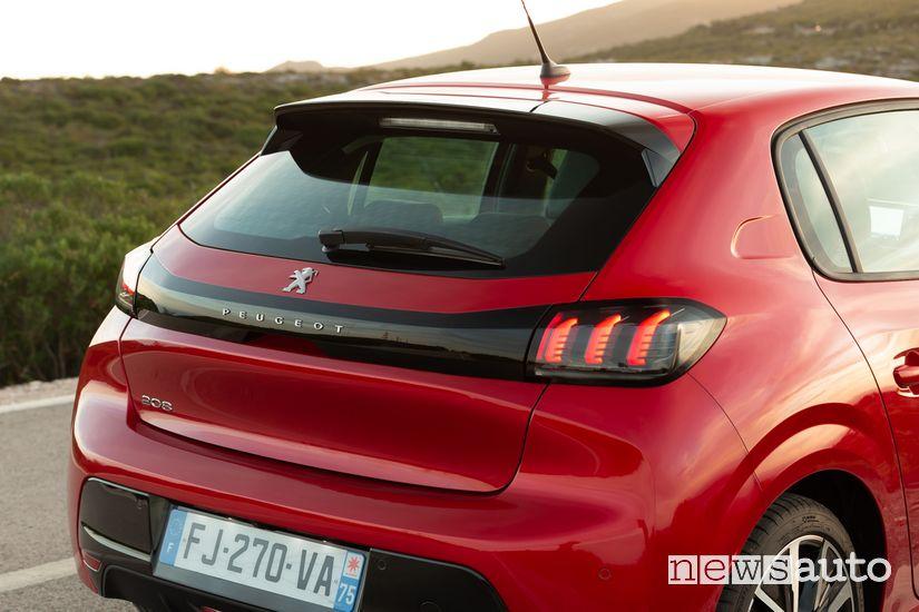 Portellone posteriore Peugeot 208 Allure Navi Pack