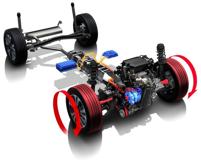 motore ibrido Suzuki consumi