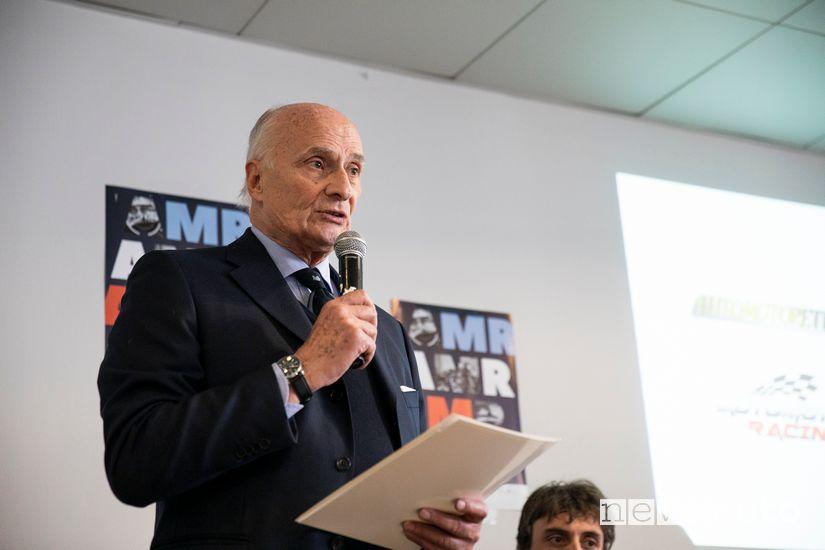 Beppe Gianoglio, ideatore ed organizzatore di Automotoretrò e Automotoracing 2020