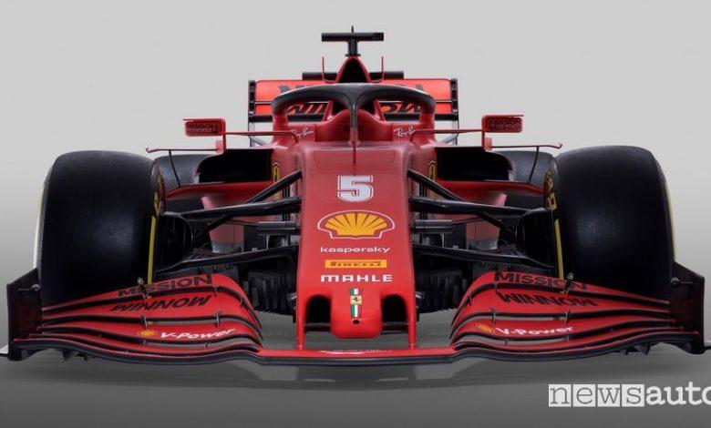 Alettone anteriore Ferrari SF1000 F1 2020