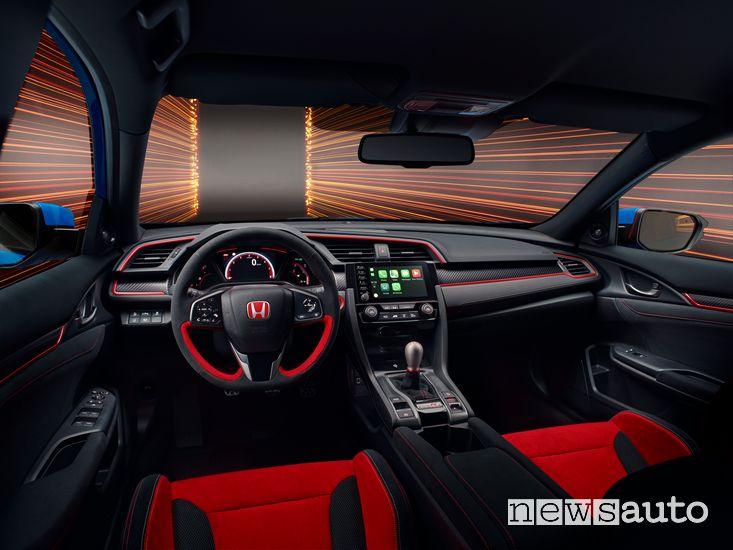 Interni Honda Civic Type R GT 2020