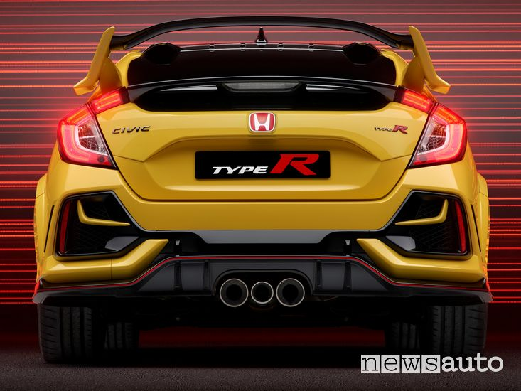 Scarico posteriore Honda Civic Type R Limited Edition