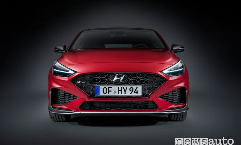 Frontale Hyundai i30 N Line