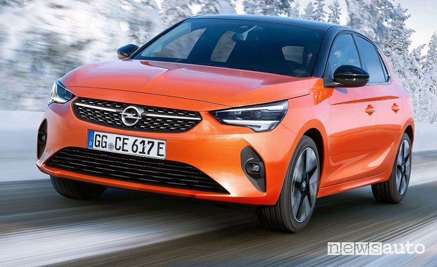 Opel Corsa-e elettrica, auto che inquina zero nel punto di utilizzo