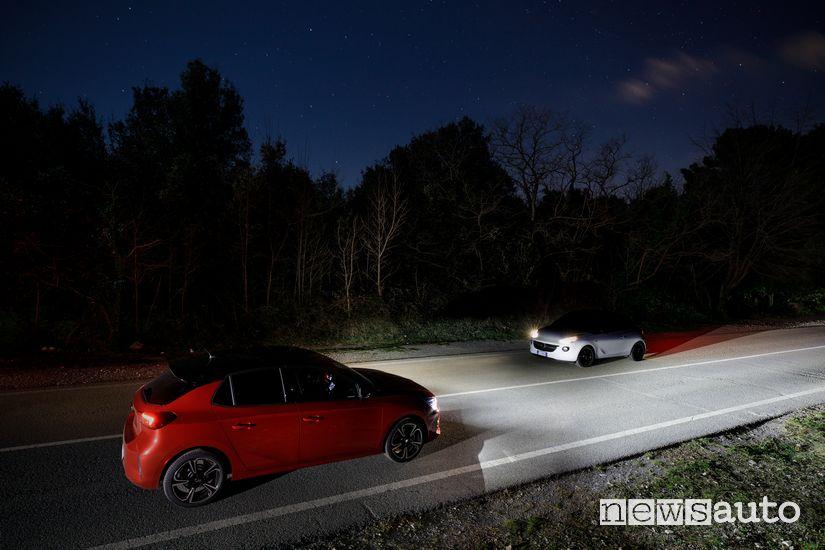 fari IntelliLux LED matrix Opel Corsa