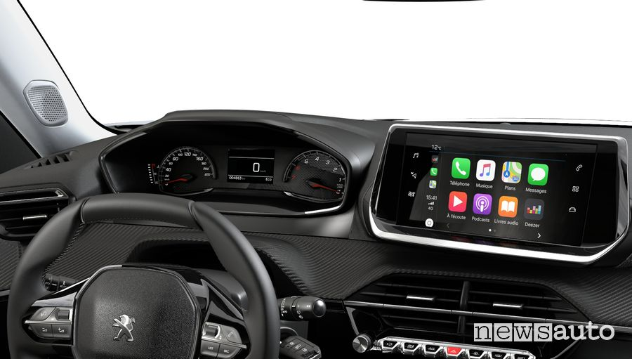 Quadro strumenti analogico, Apple CarPlay Peugeot 2008 Navi Pack