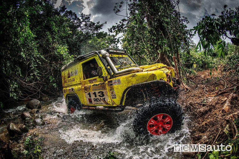 Rainforest Challenge Malesia: ostacoli naturali da affrontare in prova speciale