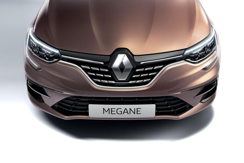 Mascherina anteriore Renault Megane 2020