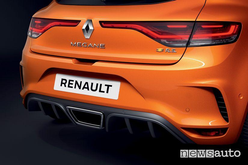 Scarico posteriore sportivo Renault Megane RS 2020