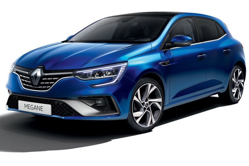 Vista di profilo Renault Megane RS Line 2020