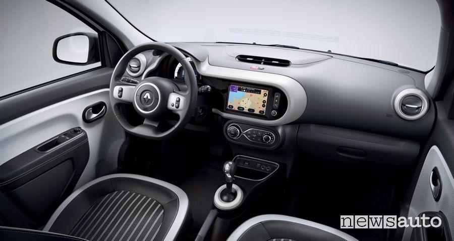Interni, plancia strumenti Renault Twingo Z.E.