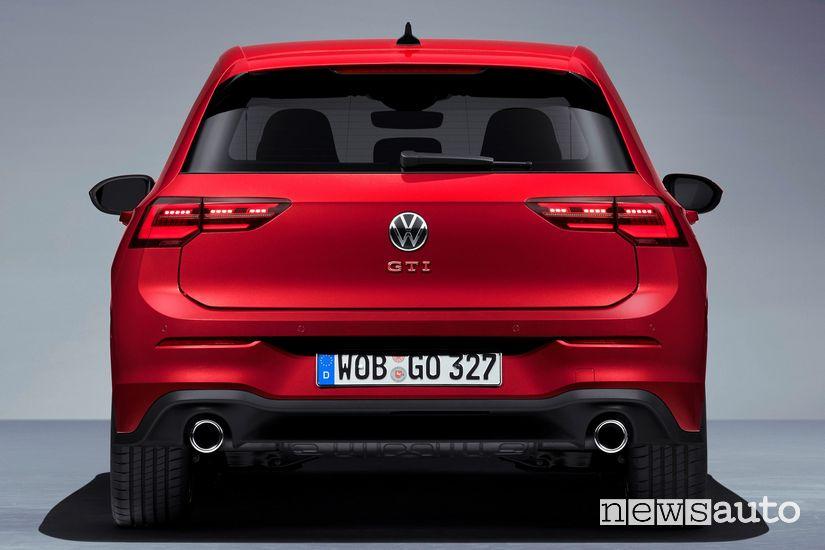 Posteriore Volkswagen Golf GTI 8 2020