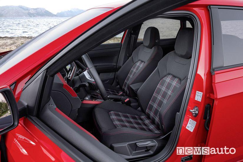 Sedili anteriori in tessuto a quadretti Clark Volkswagen Polo GTI