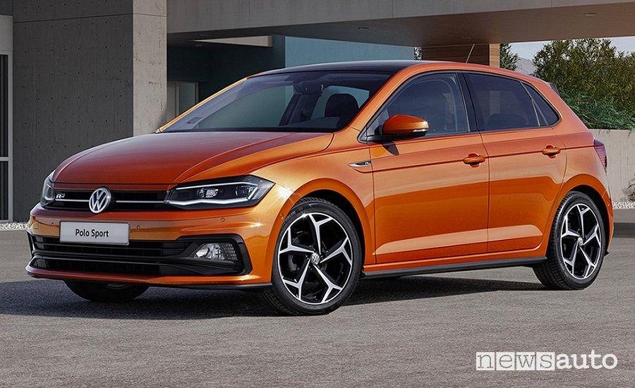 Auto utilitarie più vendute Volkswagen Polo Sport