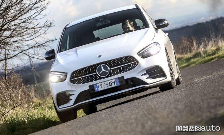anteriore Mercedes B180d 2020