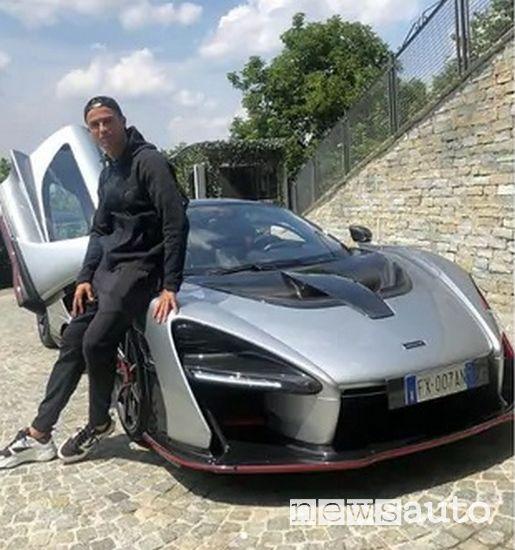 Cristiano Ronaldo e la McLaren Senna è il calciatore che possiede più auto