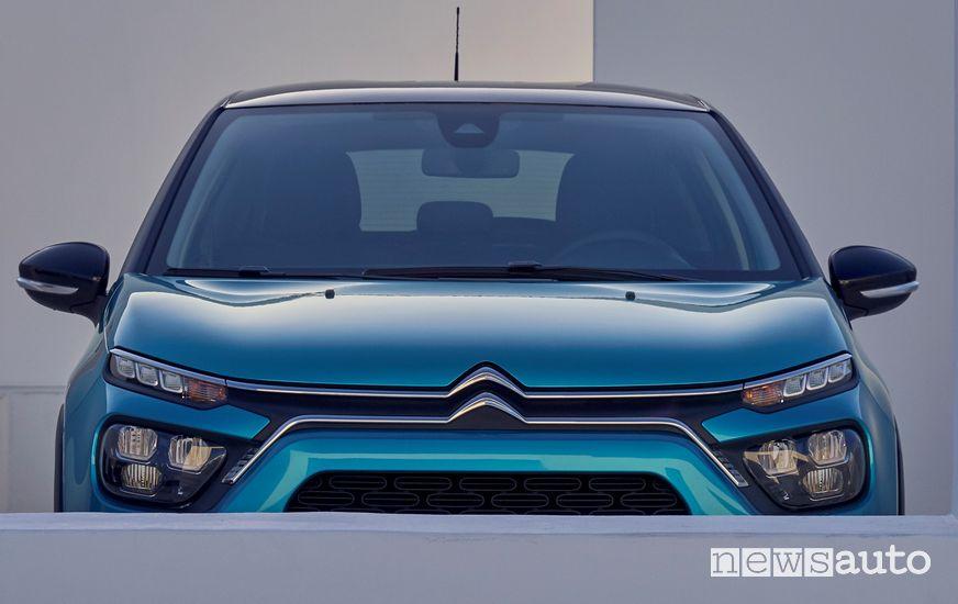Nuova firma luminosa a led frontale Citroën C3 2020
