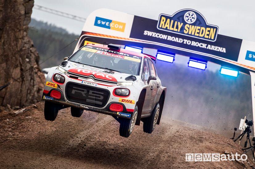 Citroën C3 R5 Østberg Rally di Svezia WRC2