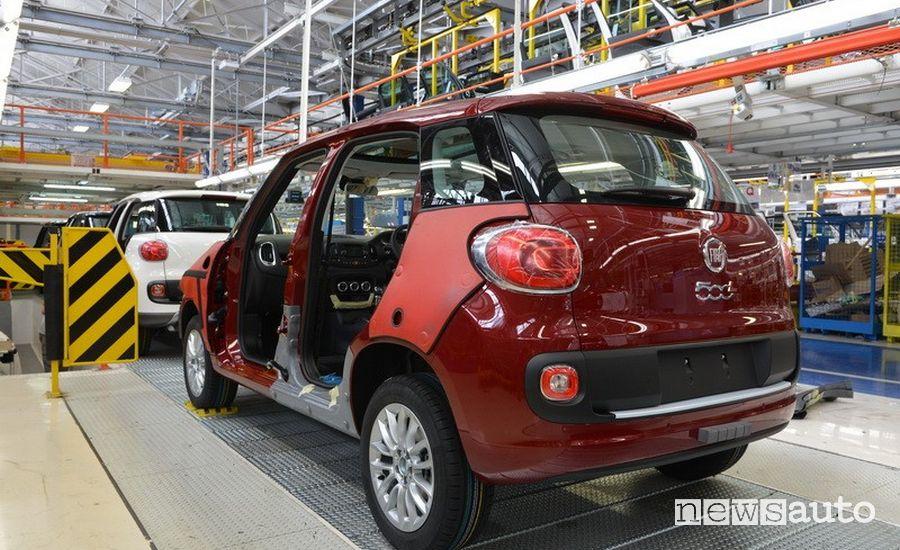 riapertura fabbriche auto italiane gruppo fca