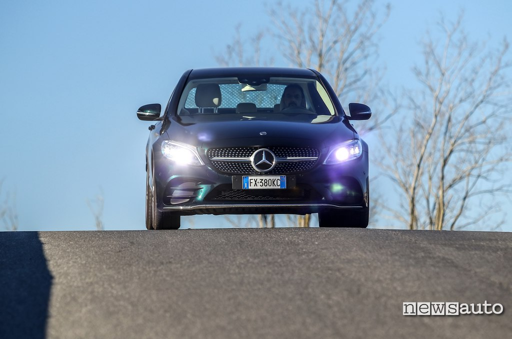 frontale Mercedes C200 Hybrid