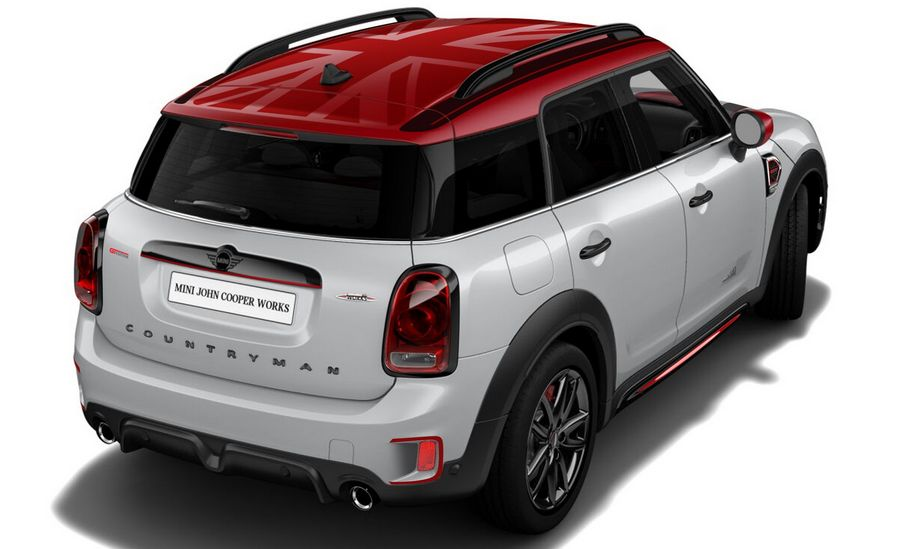 Mini Countryman John Cooper Works GT Edition, motore turbo da 306 CV