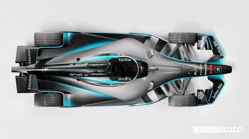 Formula E Gen 2 aerodinamica