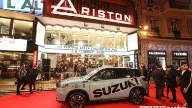 Photo of Suzuki, auto ufficiale del Festival di Sanremo 2020
