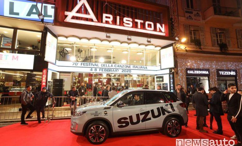 Suzuki auto ufficiale del Festival di Sanremo 2020
