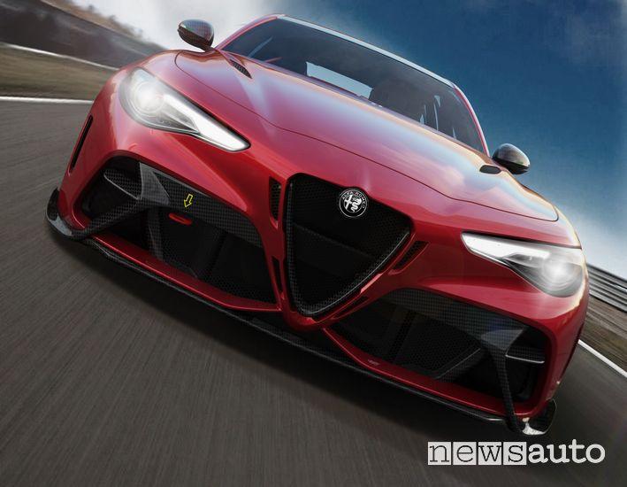 Frontale Alfa Romeo Giulia GTAm