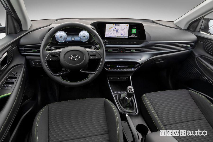 Interni, plancia strumenti Hyundai i20 2020
