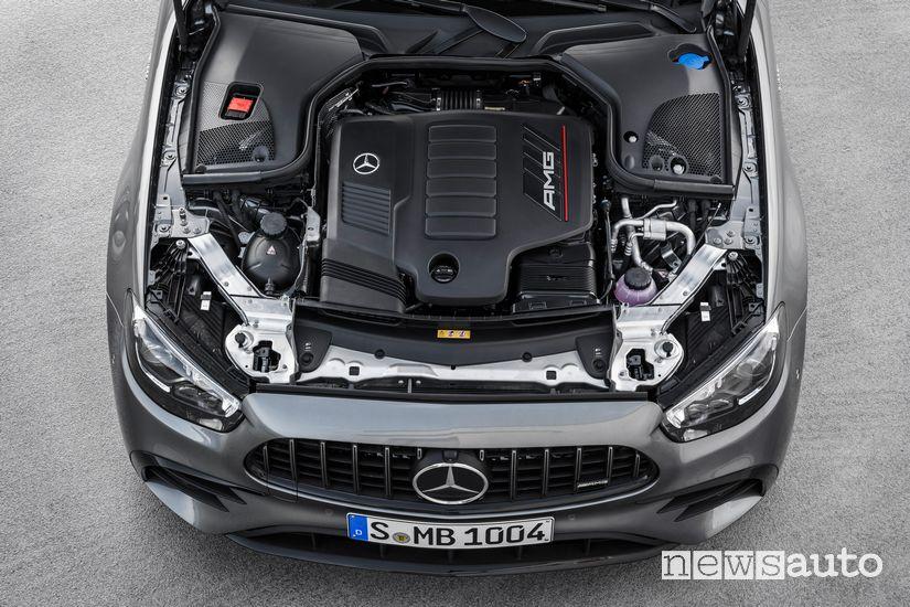 Vano motore V6 AMG Mercedes-AMG E 53 4Matic+