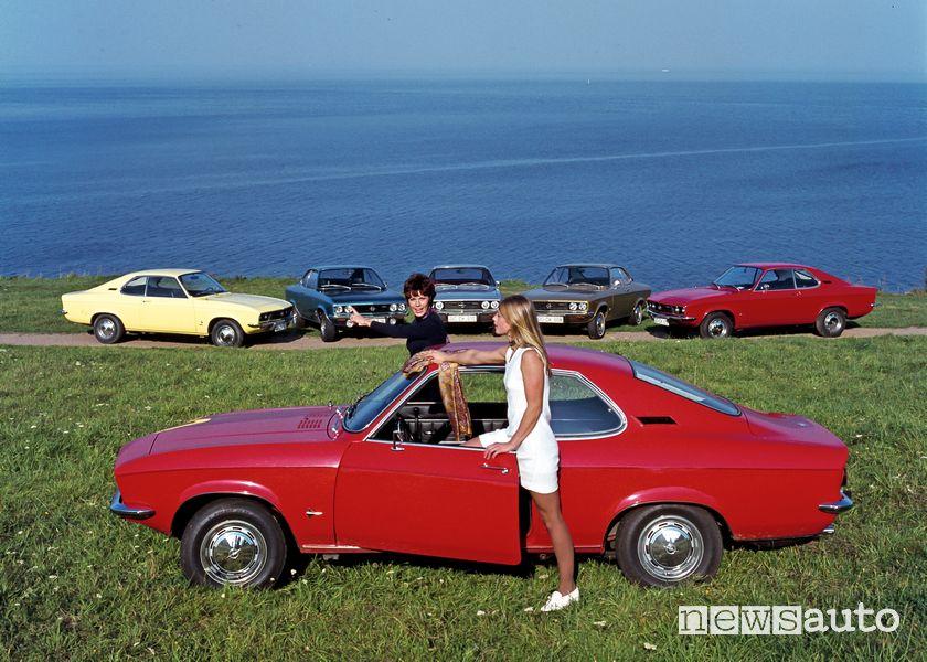 Opel Manta auto storica 1970