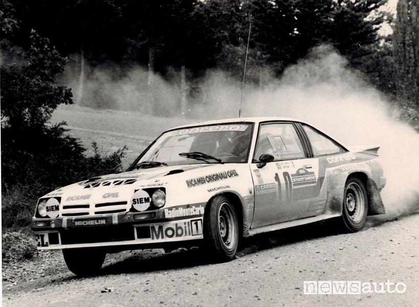 Opel Manta GT rally