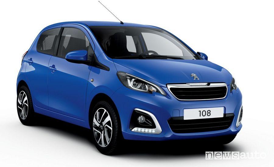 Peugeot 108 auto per neopatentati