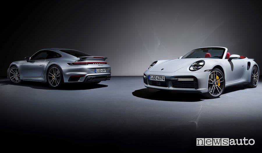 Porsche 911 Turbo S Coupé e Cabriolet