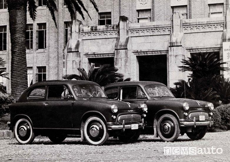 Suzulight la prima auto Suzuki del 1954