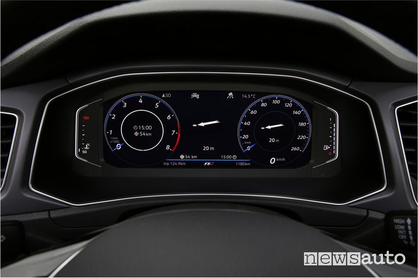 Cruscotto, quadro strumenti digitale Volkswagen T-Roc Cabriolet R-Line