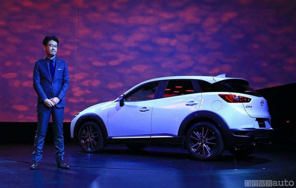 Youichi Matsuda è il Chief Designer della Mazda MX-30