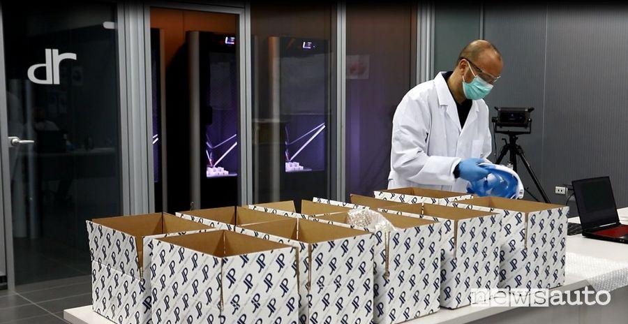 Ventilatore polmonare prodotti in Italia dalla DR di Isernia