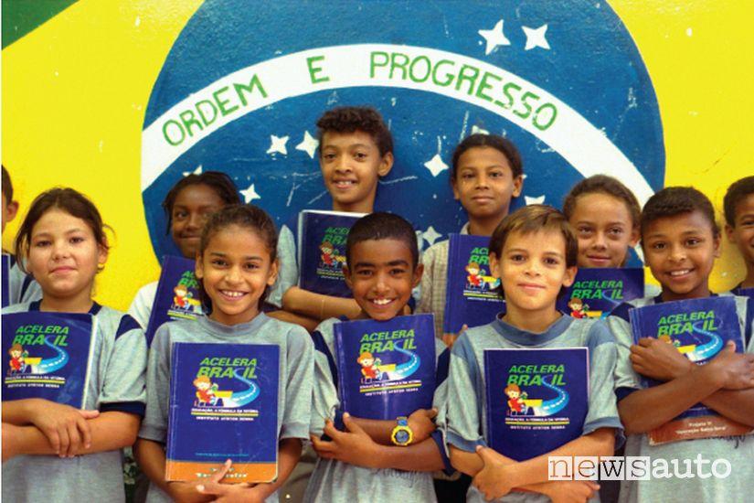 Istituto Senna fondato dalla sorella Viviane