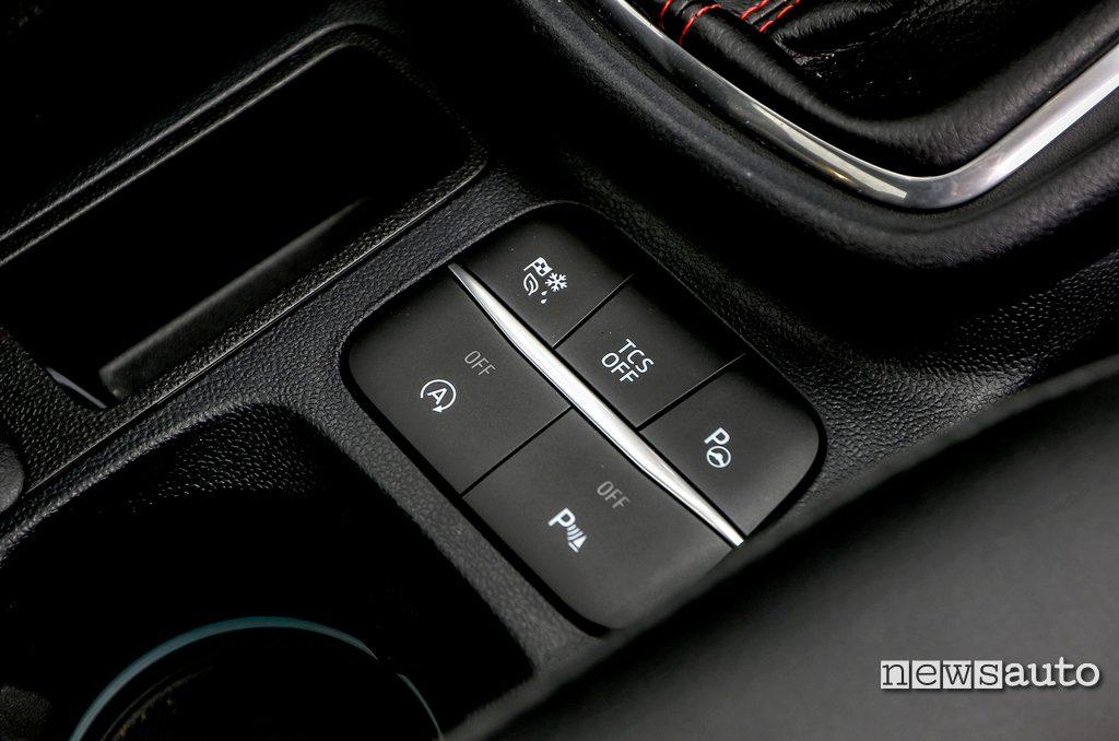 selettore modalita guida Ford Puma 2020