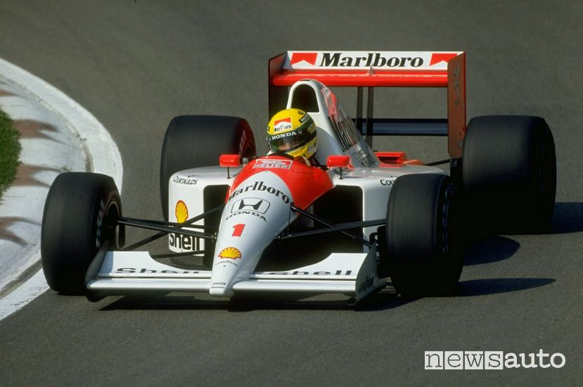 Ayrton Senna Campione del Mondo con la McLaren