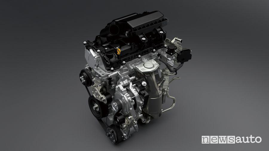 Motore K12D 1.2 Dualjet con sistema ibrido Suzuki