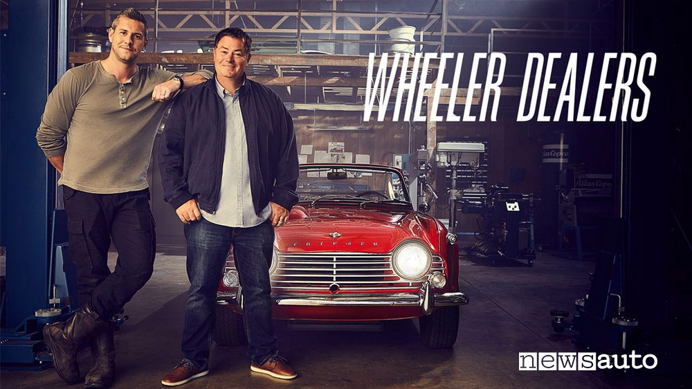 wheeler dealers mike brewer