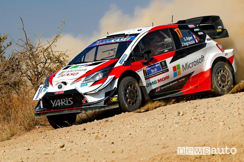 WRC 2020 Rally del Messico Toyota Yaris WRC Sebastien Ogier