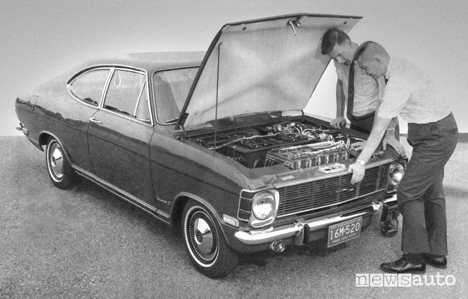 Opel Kadett B Stir-Lec I auto elettrica del 1968