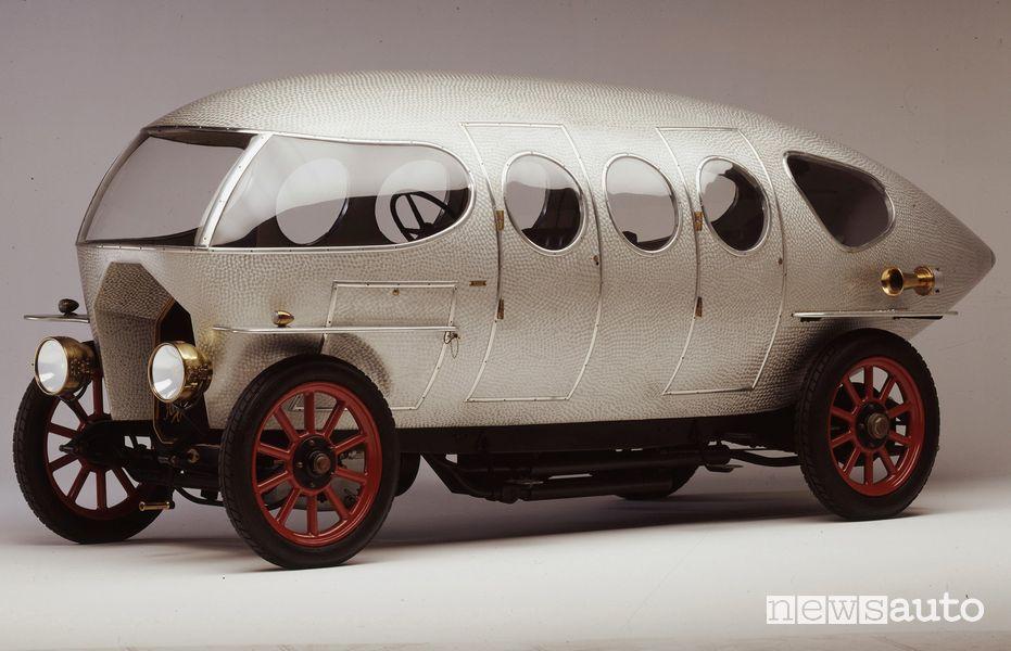Storia Alfa Romeo Alfa 40/60 HP Aerodinamica del 1913