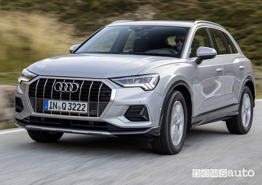 consumi Audi Q3 mild-hybrid