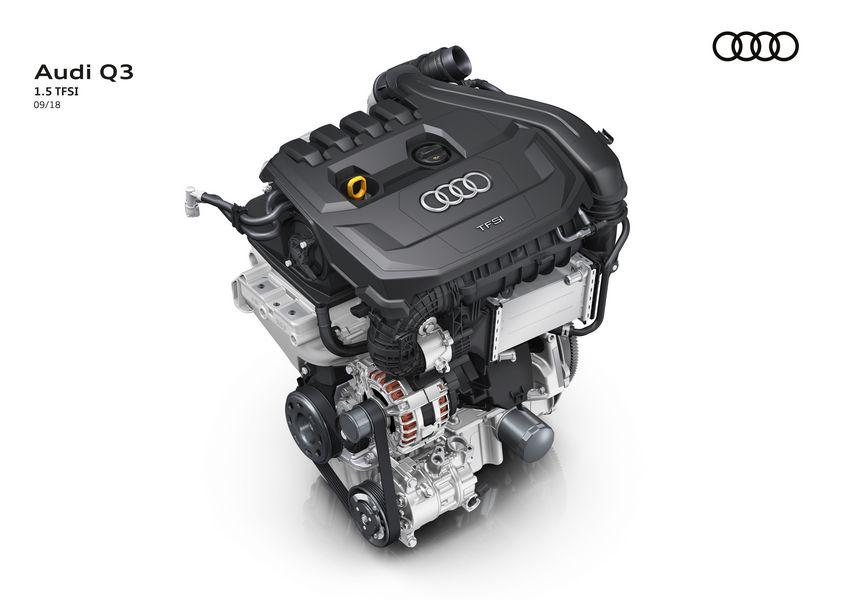 Motore Audi benzina 4 cilindri 1.5 TFSI mild-hybrid MHEV